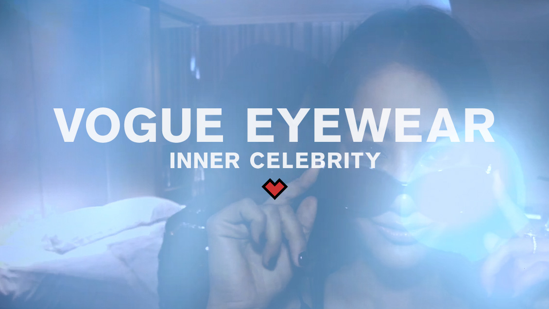 VOGUE EYEWEAR // INNER CELEBRITY (DC)