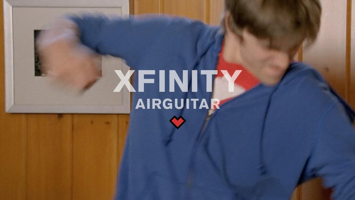 XFINITY // AIRGUITAR