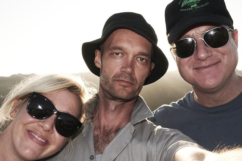 With Kaherine (Knab) Olsen and Michael Craven