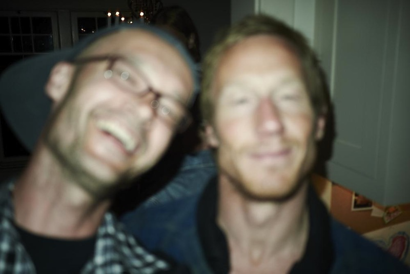 With Crille Forsberg