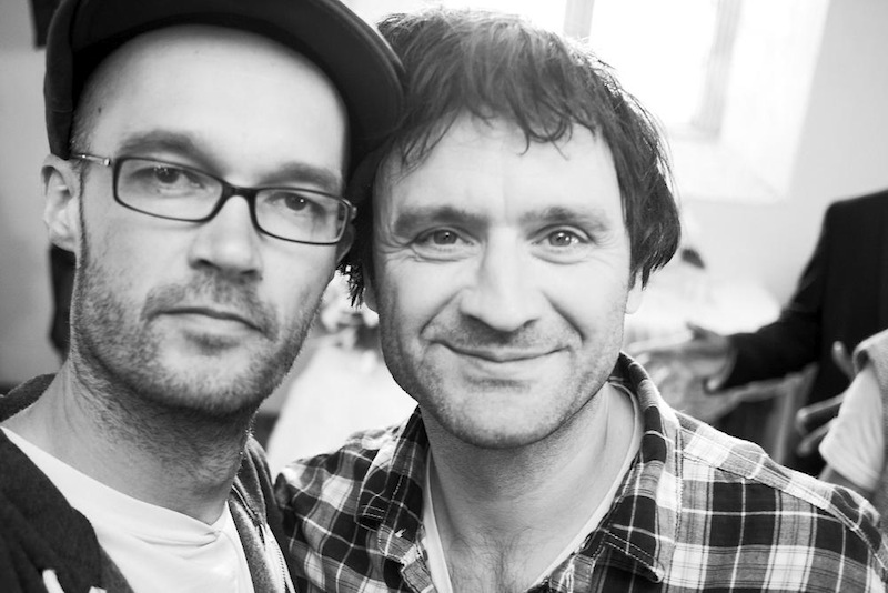 With Erich Treml