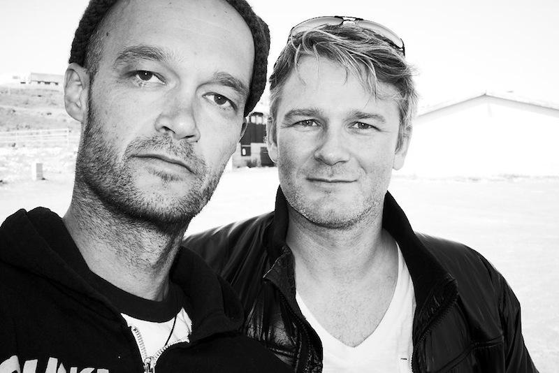 With Einar Pétur Heiðarsson