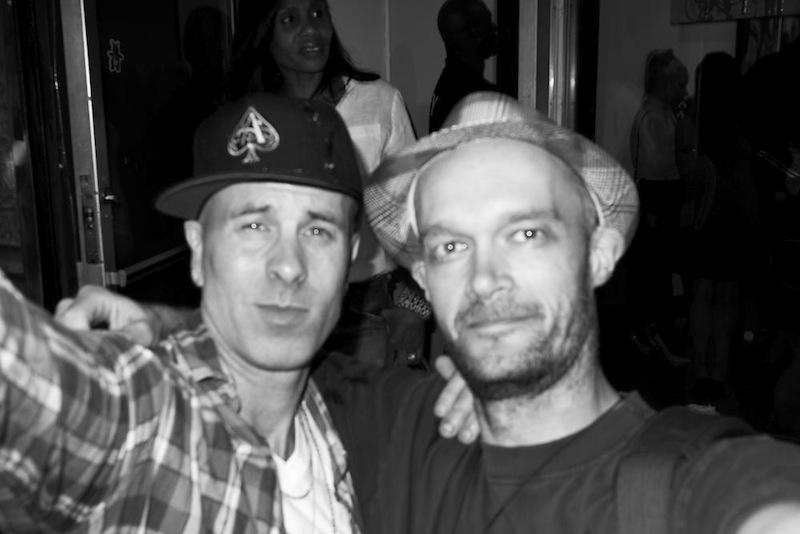 With Adam Dare