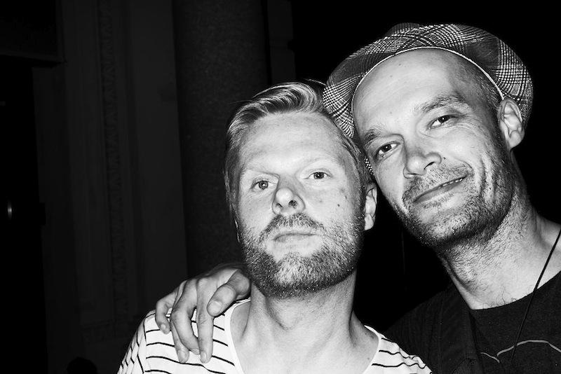 With Davíð Magnússon