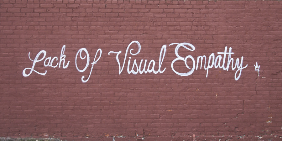 Lack of Visual Empathy