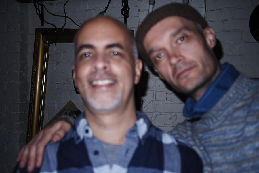 With Ricardo Gonzalez