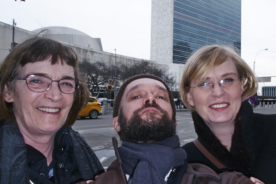 With María Norðdahl and Bryndís Ísfold Hlöðversdóttir