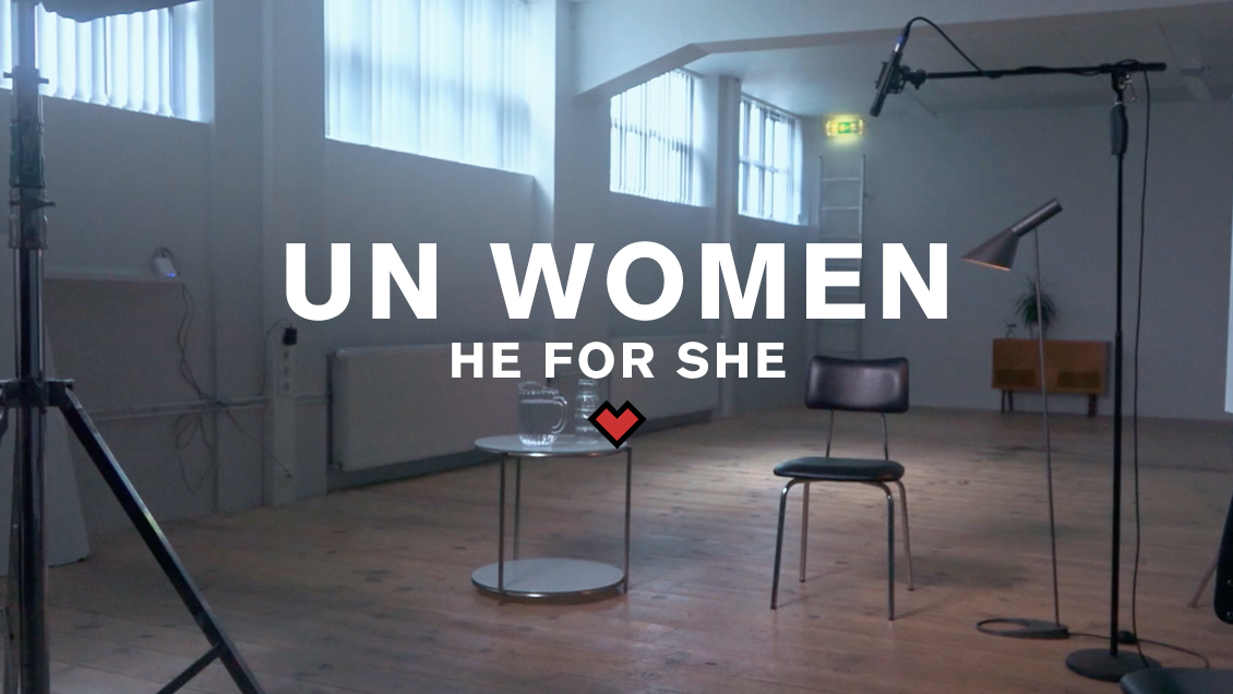 UN WOMEN ICELAND // HE FOR SHE