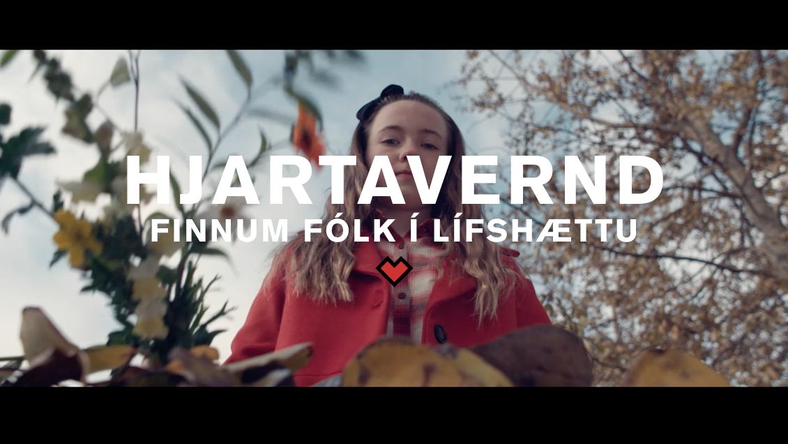 HJARTAVERND // FINNUM FÓLK Í LÍFSHÆTTU