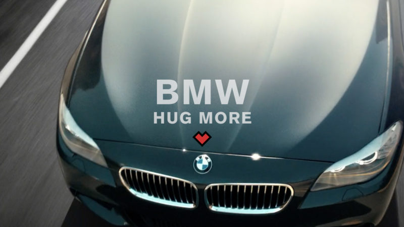 BMW // HUG MORE
