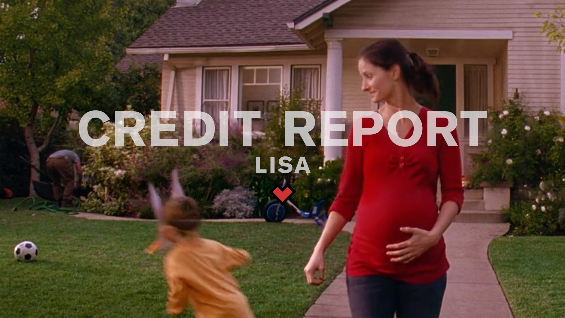 CREDIT REPORT // LISA