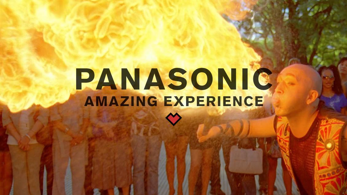 PANASONIC // AMAZING EXPERIENCE