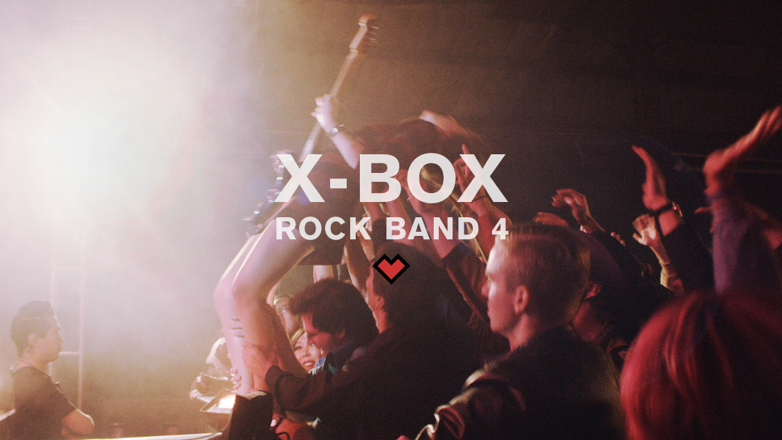 X-BOX // ROCK BAND